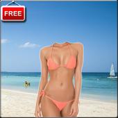 Women Bikini Photo Suit icon