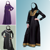 Burka Fashion Photo Suit icon