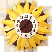 Sunflower Clock Live Wallpaper icon