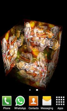 Hanuman Cube Livewallpaper apk screenshot