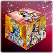 Krishna Cube Livewallpaper icon