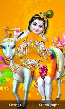 Krishna Cube Livewallpaper apk screenshot