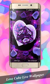 Love Cube Livewallpaper poster