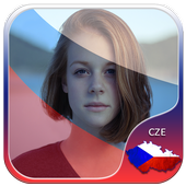 Czech Flag Photo Editor icon