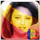 Andorra Flag Photo Editor icon
