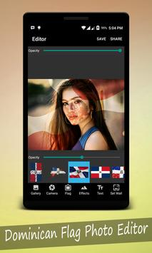 Dominican Flag Photo Editor screenshot 1