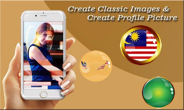Malaysia Flag Photo Editor poster