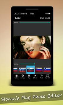 Slovenia Flag Photo Editor apk screenshot