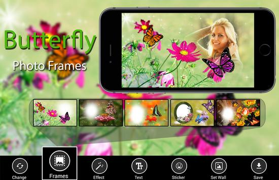 Butterfly Photo Frames poster