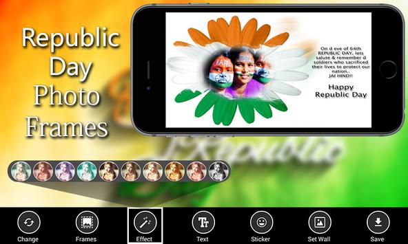 Republic Day HD Photo Frames - indian Republic day poster