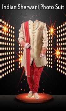 Indian Sherwani Photo Suit apk screenshot