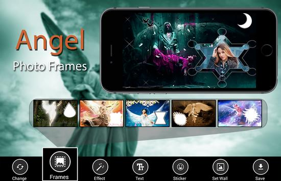 Angel Photo Frames poster