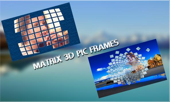 Matrix 3D Pic Frames screenshot 4