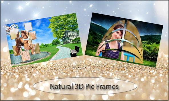 Natural 3D Pic Frames screenshot 4