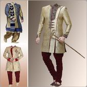 Men Sherwani Photo Suit icon