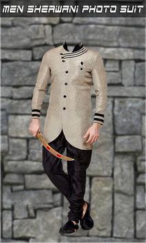 Men Sherwani Photo Suit screenshot 3