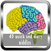 45 quick and dirty riddles icon