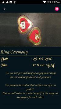 Engagement Invitation:D&R apk screenshot