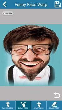 Funny Face Warp : Fun Photo Edit screenshot 1