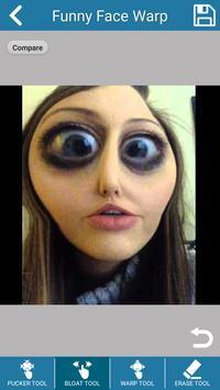 Funny Face Warp : Fun Photo Edit screenshot 2