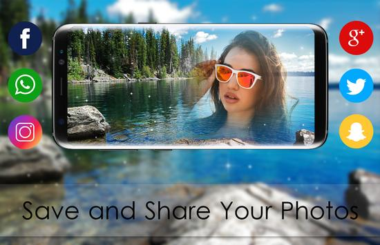 Beautiful Lake Photo Editor - nature beautiful pic screenshot 2