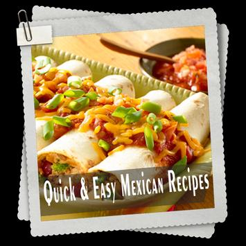 Quick & Easy Mexican Recipes screenshot 1