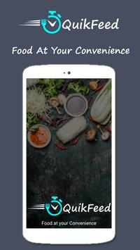 QuikFeed - Order Food Online apk screenshot
