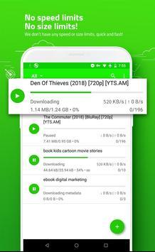 eTorrent - Torrent Downloader screenshot 1