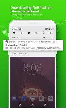 eTorrent - Torrent Downloader screenshot 2