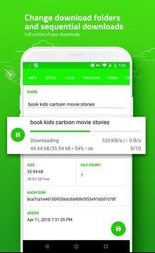 eTorrent - Torrent Downloader screenshot 6