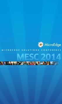MicroEdge Solutions Conf 2014 poster