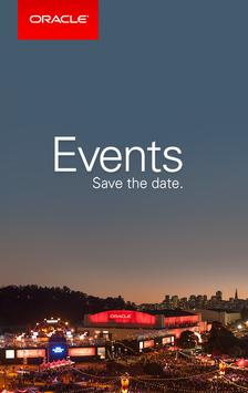 Oracle Events 17 poster