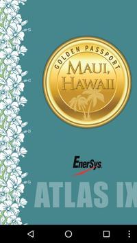 Atlas IX Maui poster