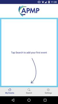 APMP Events apk screenshot
