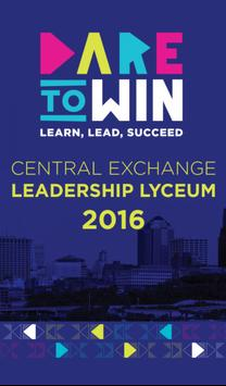 2016 CX Leadership Lyceum poster