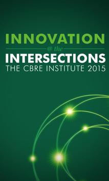 CBRE Institute | Global Forum poster