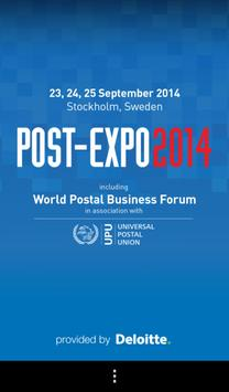 POST-EXPO 2014 poster