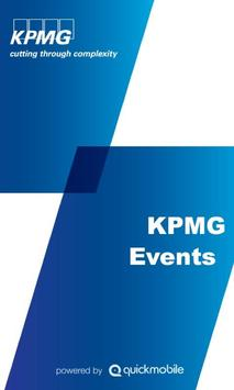 KPMG Events poster