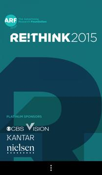 Rethink 2015 poster