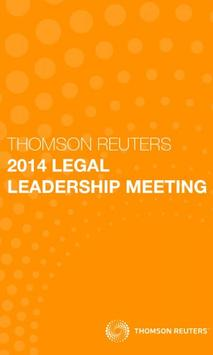 TR Legal Leadership poster