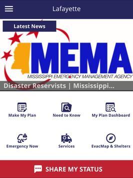 Lafayette County Community Preparedness apk screenshot