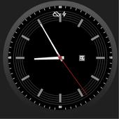 Simple Classic Dark Watchface icon