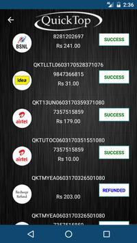 QuickTop apk screenshot