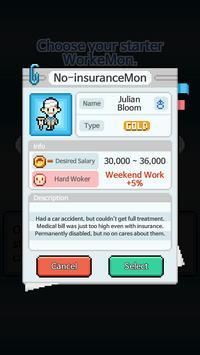 WorkeMon apk screenshot