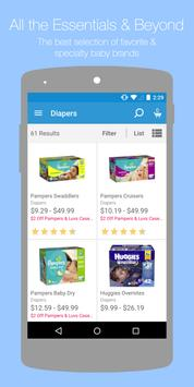 Diapers.com apk screenshot