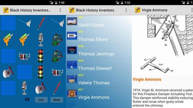 Black History Inventors Quiz apk screenshot