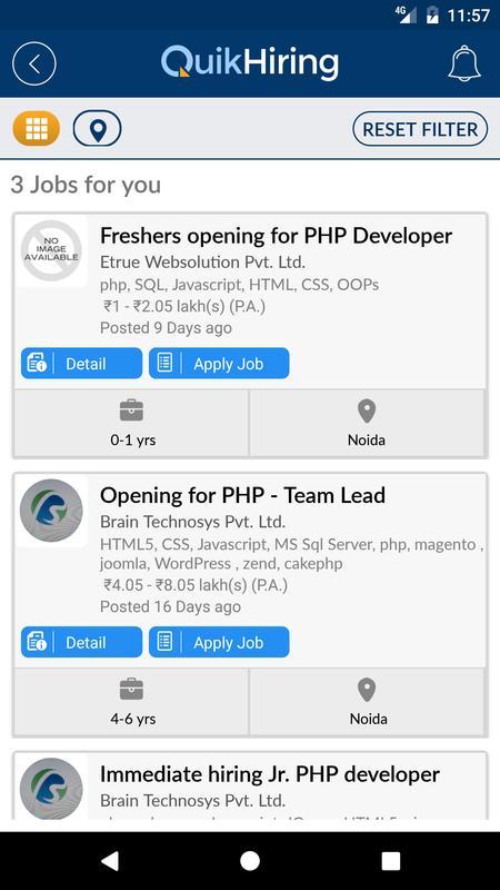 QuikHiring Job Search Video CV Descarga APK - Gratis Empresa ...