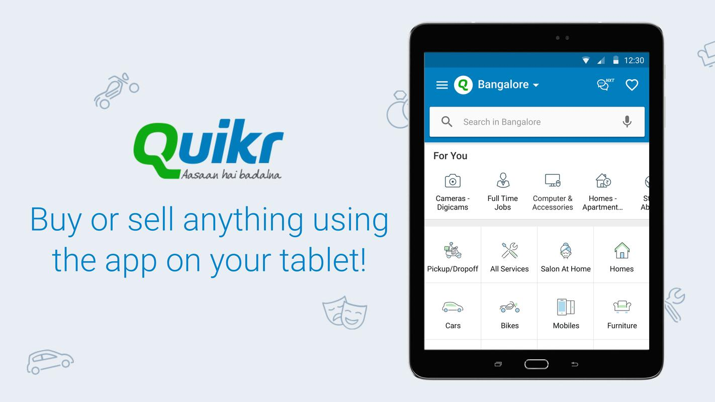 Quikr Search Jobs Mobiles Cars Home Services Apk