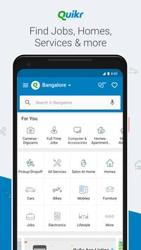 Quikr – Search Jobs, Mobiles, Cars, Home Services poster