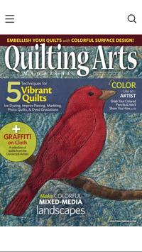 Quilting Arts poster
